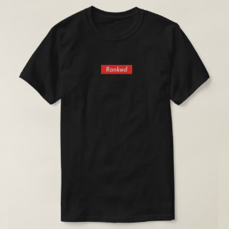 Ranked Black T - Shirt