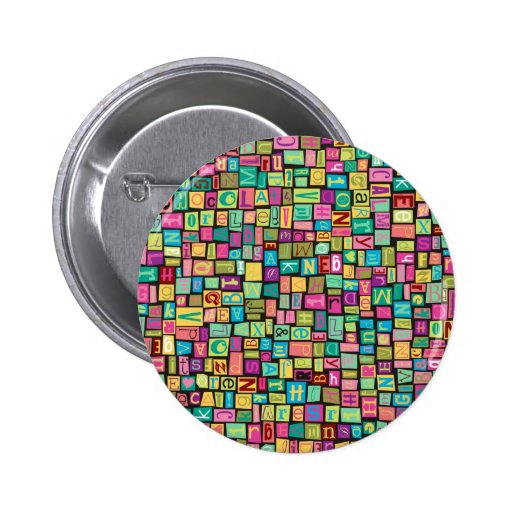 Ransom Note Pinback Button