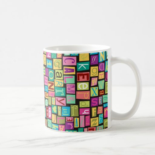 ransom note mug