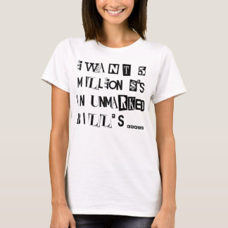 Ransom Note T-Shirt