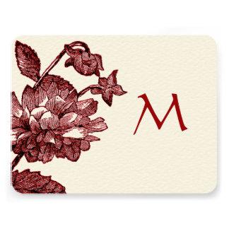 Ranunculus Rose Burgundy Modern Wedding Invite Custom Invitations