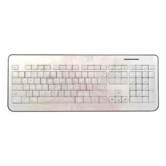 Ranunculus warm colors fade wireless keyboard