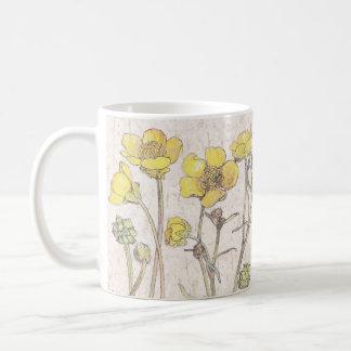 Ranunculus Wildflower Flowers Meadow Mug