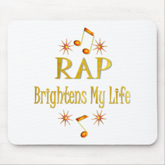 RAP Brightens My Life Mouse Pad