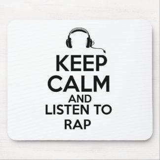Rap design mouse pads