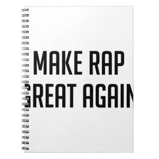 Rap Great Again Notebook