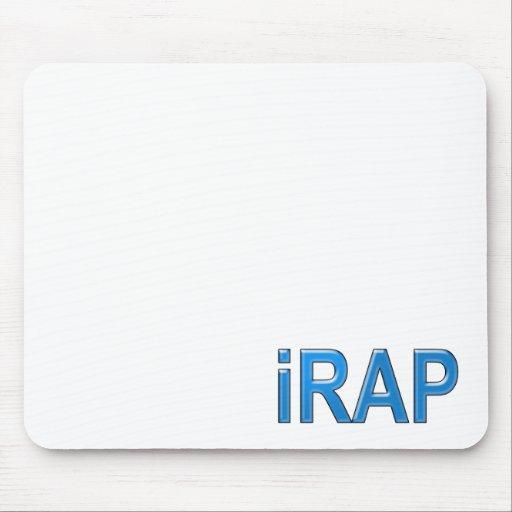 RAP iRAP Rapper Rap music MC emcee girls guys Mouse Pads