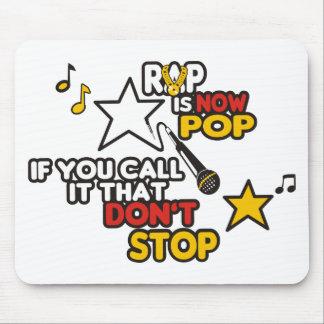 RAP IS NOW POP T SHIRT MOUSEPAD