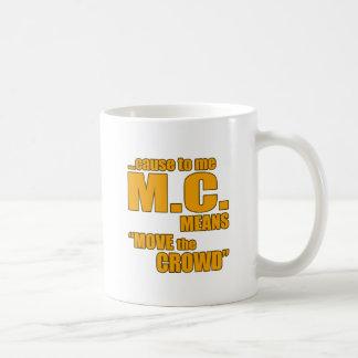 Rap lyric t shirt classic white coffee mug