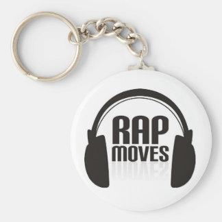 Rap Moves Key Chain