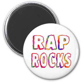 Rap Rocks Magnet