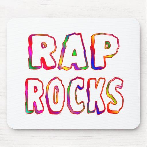 Rap Rocks Mouse Pads