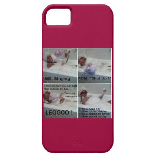 Rap Song Parody Lyrics Maroon Phone Case iPhone 5 Cover