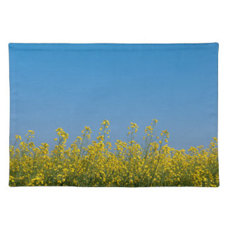 Rape field placemat