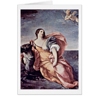 Rape Of Europe By Guido Reni Greeting Cards