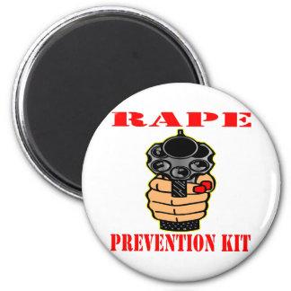 Rape Prevention Kit Loaded Gun Magnets