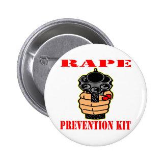 Rape Prevention Kit (Loaded Gun) Pins