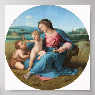 Raphael Alba Madonna Fine Art Poster