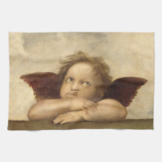 Raphael Angel 2 Tea Towel