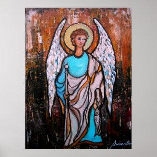 Raphael Archangel Poster
