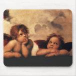Raphael Cherubs Sistine Madonna 2 Angels