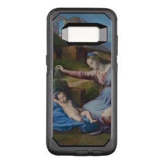 Raphael Madonna with Blue Diadem OtterBox Commuter Samsung Galaxy S8 Case