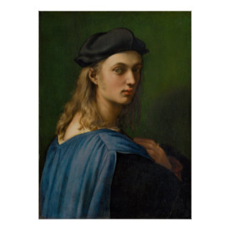 Raphael - Portrait of Bindo Altoviti Poster
