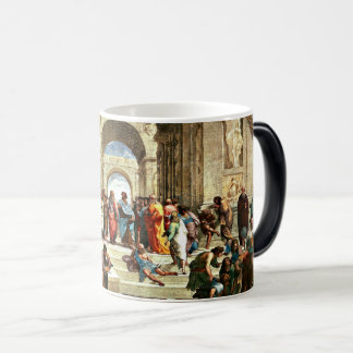 Raphael - School of Athens Magic Mug