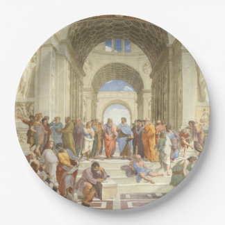 Raphael - School of Athens Paper Plate