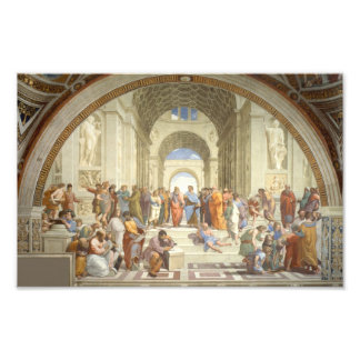 Raphael - School of Athens Photographic Print