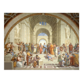 Raphael - School of Athens Postcard