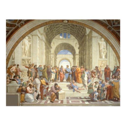 Raphael - School of Athens Postcard
