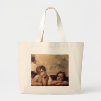 Raphael,Sistine Cherub Canvas Bag