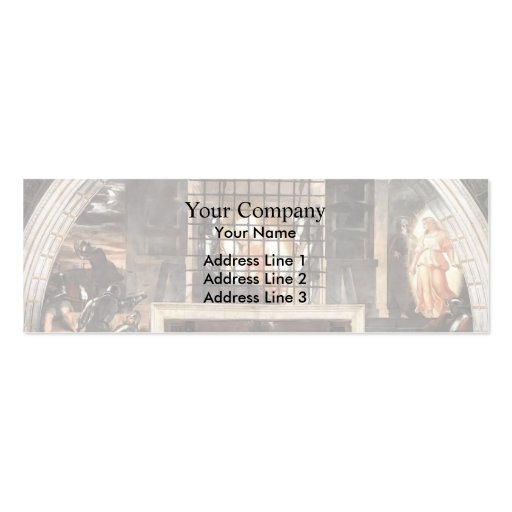 Raphael: The Liberation of St. Peter Business Card