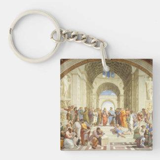 Raphael - The school of Athens 1511 Key Ring