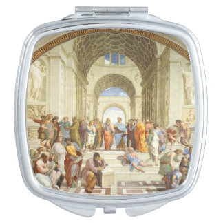 Raphael - The school of Athens 1511 Makeup Mirrors