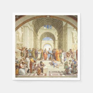 Raphael - The school of Athens 1511 Paper Napkin