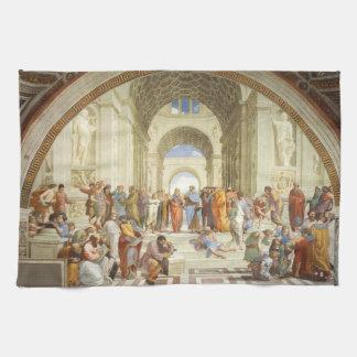 Raphael - The school of Athens 1511 Tea Towel
