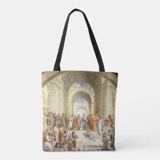 Raphael - The school of Athens 1511 Tote Bag