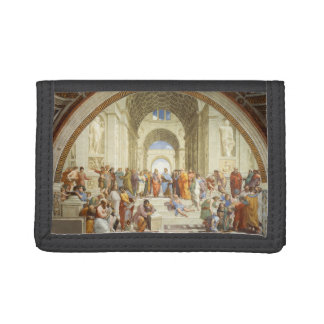 Raphael - The school of Athens 1511 Tri-fold Wallet