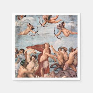 RAPHAEL -  Triumph of Galatea 1512 Disposable Serviette