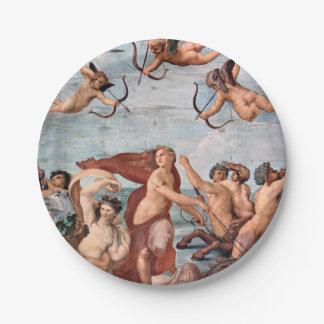 RAPHAEL -  Triumph of Galatea 1512 Paper Plate