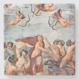 RAPHAEL -  Triumph of Galatea 1512 Stone Coaster