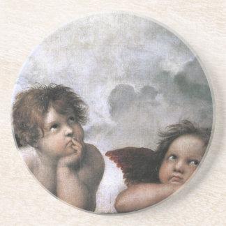 Raphael Two Angels Coaster