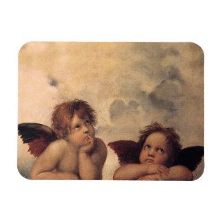 Raphael's Cherubs Flexible MAGNET