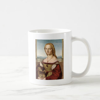 Raphael's Lady with a Unicorn Mug