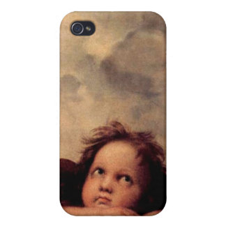 Raphael's Putto iPhone Case Covers For iPhone 4