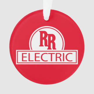 Rapid Rail Electric Christmas Ornament