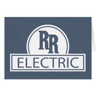 Rapid Rail Electric Greeting Card