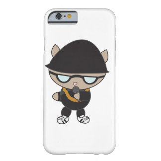 Rapper Cat in Bell Hat Barely There iPhone 6 Case